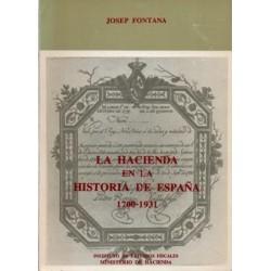 La Hacienda en la historia de España, 1700-1931. Y Suplemento al Diccionario de Hacienda con aplicación a España (Facsímil)
