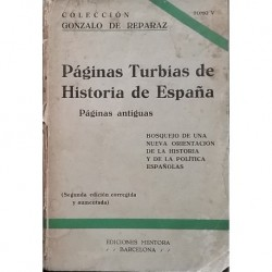 Páginas turbias de la historia de España