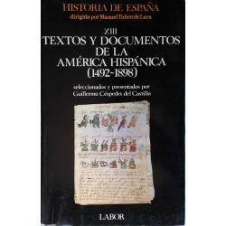 Textos y documentos de la América hispánica (1492-1898)