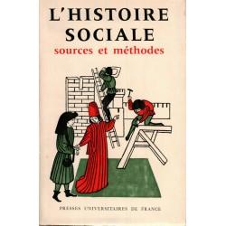 L'Histoire sociale: Sources et méthodes
