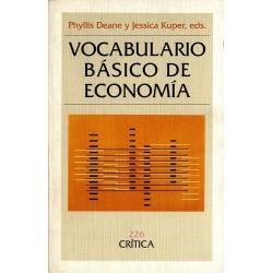 Vocabulario básico de economía