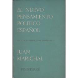 El nuevo pensamiento político español