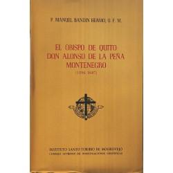 El obispo de Quito, Don Alonso de la Peña Montenegro (1596-1687)