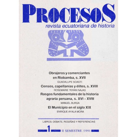 Procesos. Revista ecuatoriana de historia