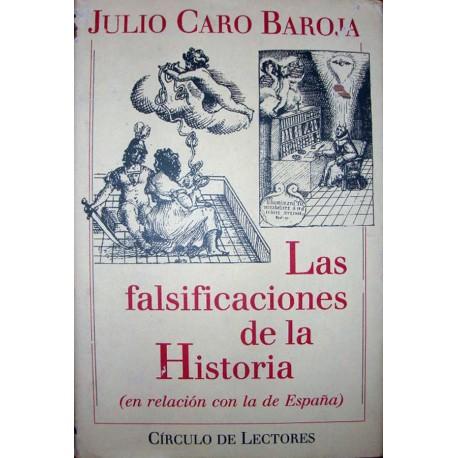 Imagen de la librería Las falsificaciones de la historia (en relación con la de España)