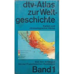 DTV-Atlas zur Weltgeschichte. Karten und chronologischer Abriss