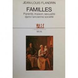 Familles. Parenté, maison, sexualité dans l'ancienne société