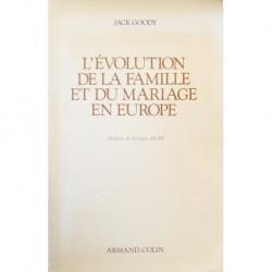 L'évolution de la famille et du mariage en Europe