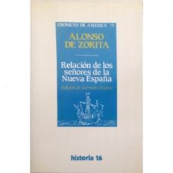 Relación de los señores de la Nueva España