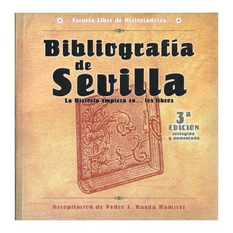 Bibliografía de Sevilla. La Historia empieza en... los libros