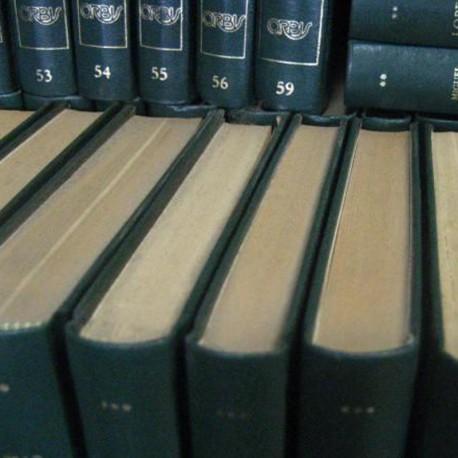 Historia de la literatura española, 106 vol.