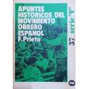 Apuntes históricos del movimiento obrero español