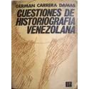 Cuestiones de historiografía venezolana