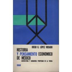 Historia y pensamiento económico de México (4 vols.)