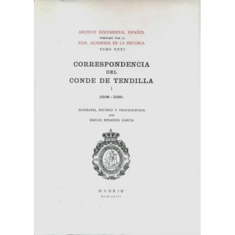 Correspondencia del Conde de Tendilla