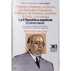 La II República española. El primer bienio