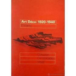 Art Déco 1920-1940. Formas entre dos guerras