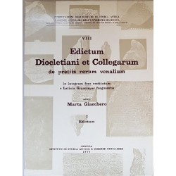 Edictum Diocletiani et Collegarum de Pretiis Rerum Venalium in integrum fere restitutum e Latinis Graecisque Fragmentis