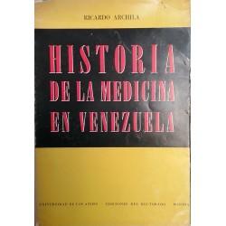 Historia de la Medicina en Venezuela