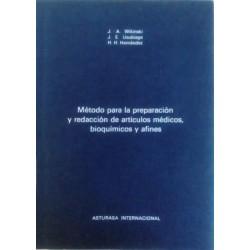 Método para la preparación y redacción de artículos médicos, bioquímicos y afines